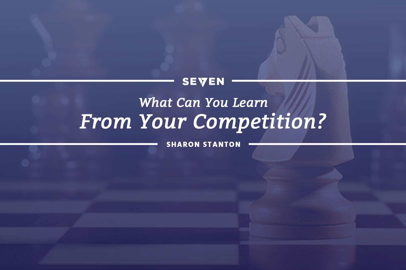 What Can You Learn From Your Competition?