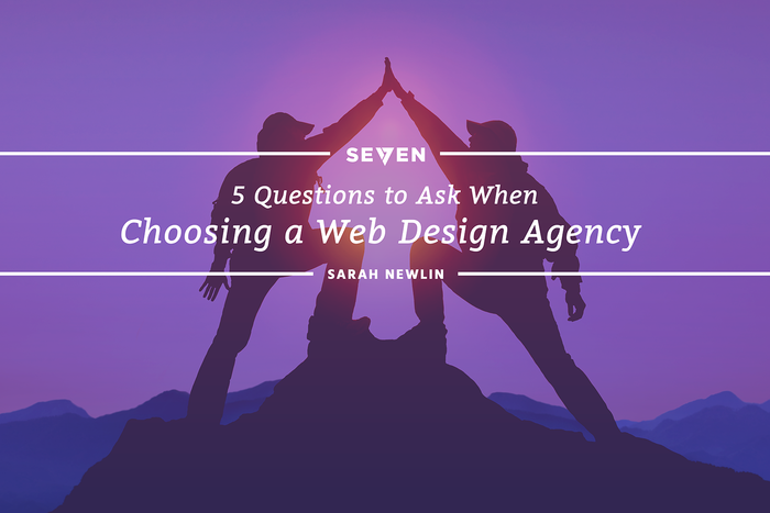 5 Questions to Ask When Choosing a Web Design Agency