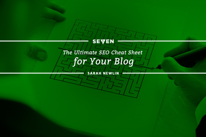 The Ultimate SEO Cheat Sheet for Your Blog