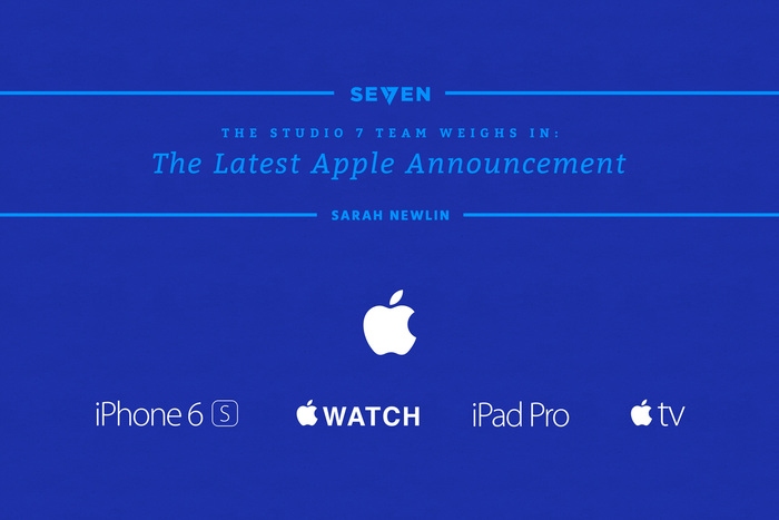 The Latest Apple Announcement: The Studio 7 Team Weighs In
