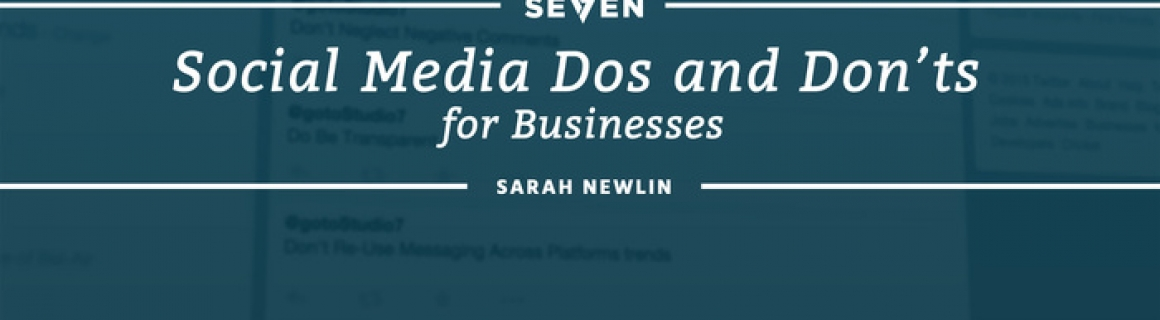 Social Media Dos and Don'ts for Businesses