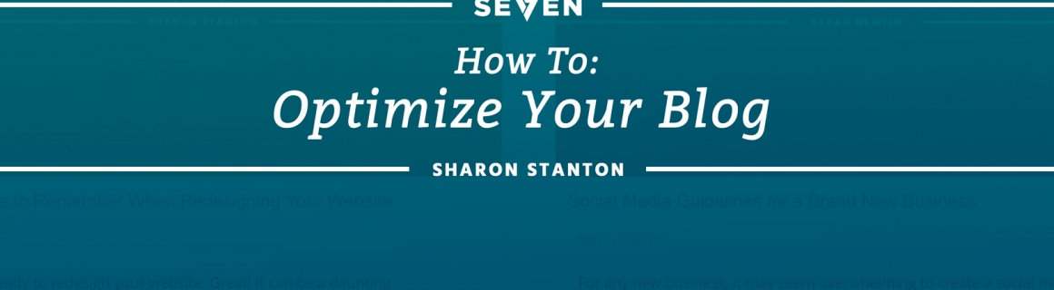 How To Optimize Your Blog