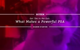 Get 'Em in the Gut: What Makes a Powerful PSA