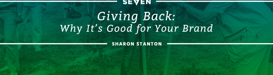 Giving Back: Why It's Good for Your Brand