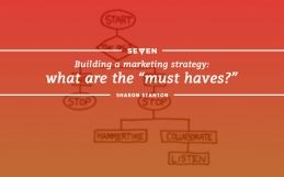 """Building a Marketing Strategy: What Are The """"Must Haves?"""""""