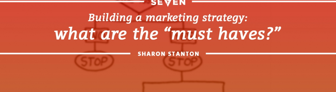 "Building a Marketing Strategy: What Are The ""Must Haves?"""